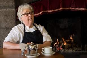 Adrienne Gros, restauratrice, patronne du restaurant Chez Germaine, à Aubrac